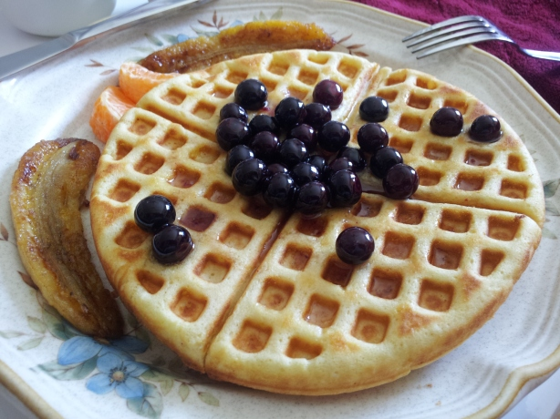 Mmm! Home Made Waffles!