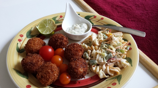 Mmm! Fried Crab Balls