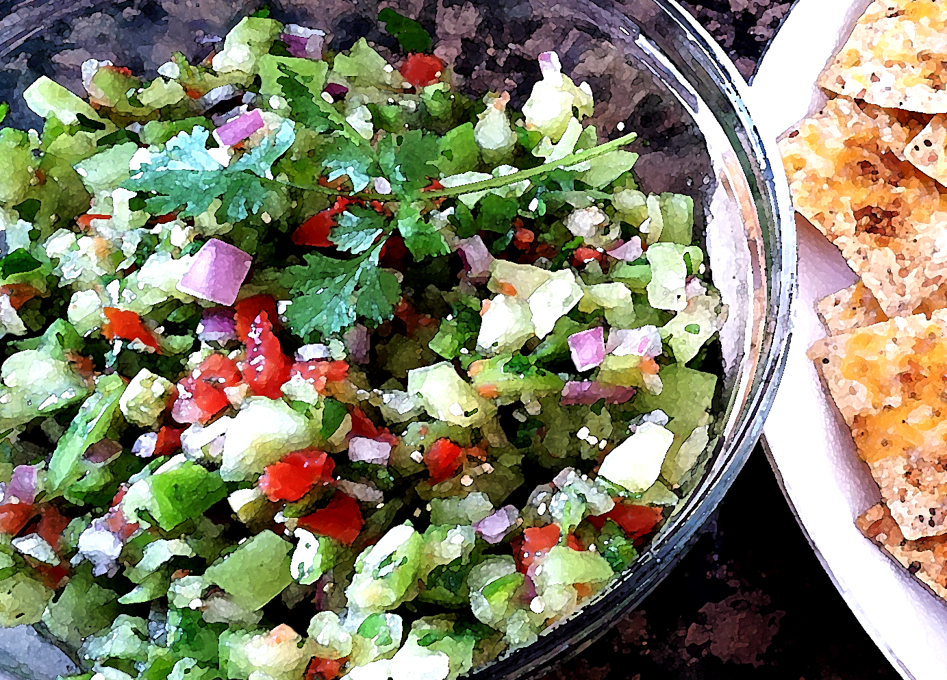 with pico de gallo and coconut cole slaw shrimpo de gallo gallo