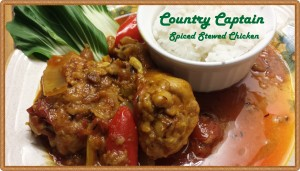 Country Captain Chicken